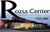 Benefit sponsored by Rozsa Center for the Performing Arts